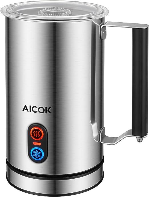 Nuevo vaporizador automático de leche Aicok diseñado, calor y ...