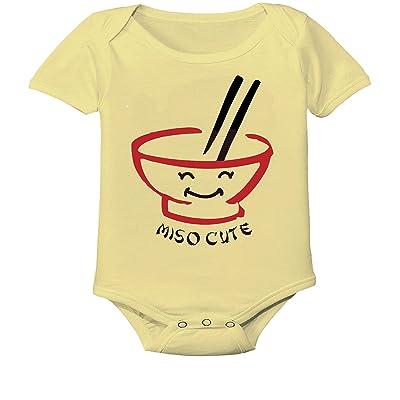 """ Miso cute "" Custom Boutique Baby bodysuit onesie."