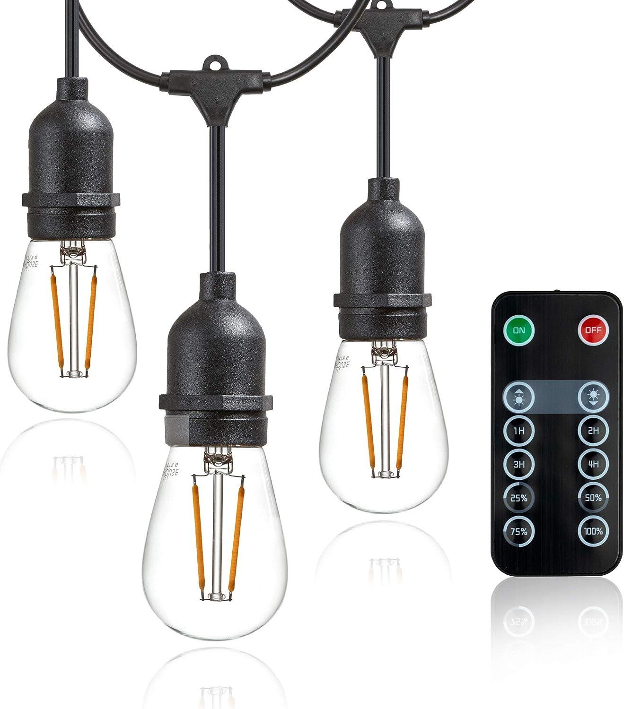 Newhouse Lighting STRINGKIT 48 ft String Light Hanging//Mounting Kit