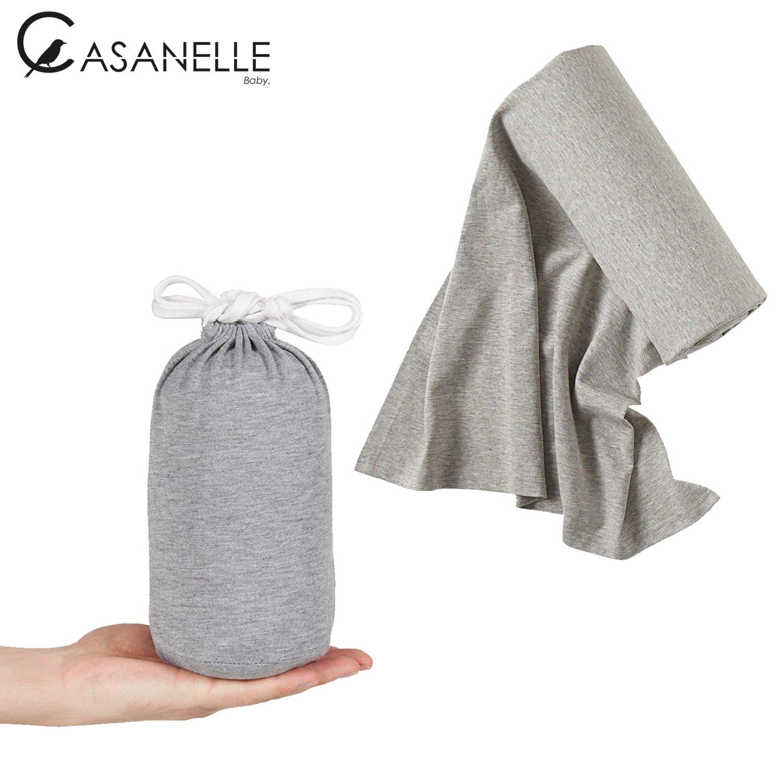 Echarpe de portage bebe   porte bebe gris léger ☆Offert livre ebook tutos    5. Agrandir l image f0f9579b3ad