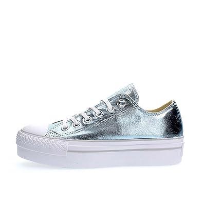 chaussure converse femme bleu