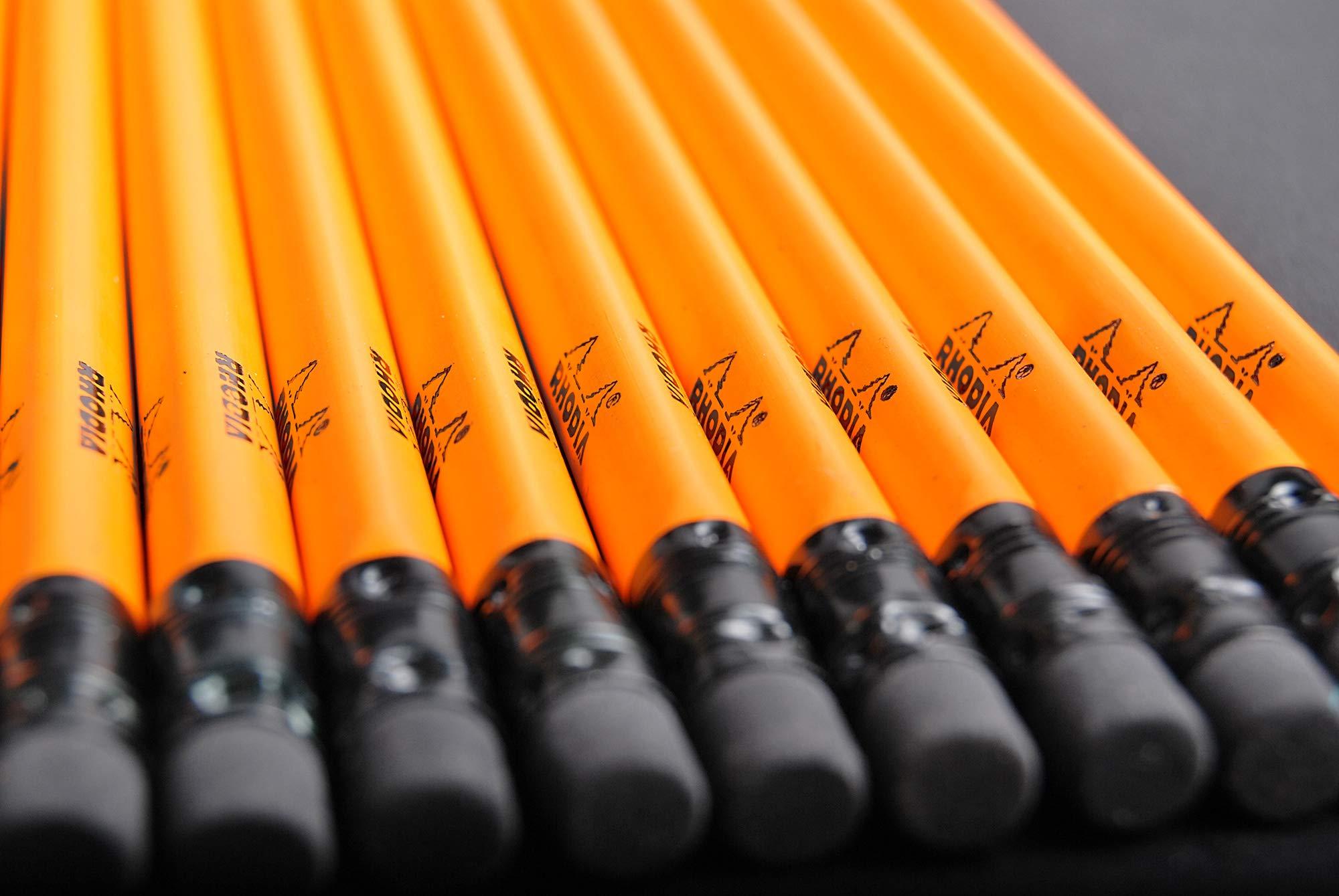 Rhodia Hard Box Display of 25 Pencils - (w) 3 x (d) 2 3/4 x (h) 5 1/4