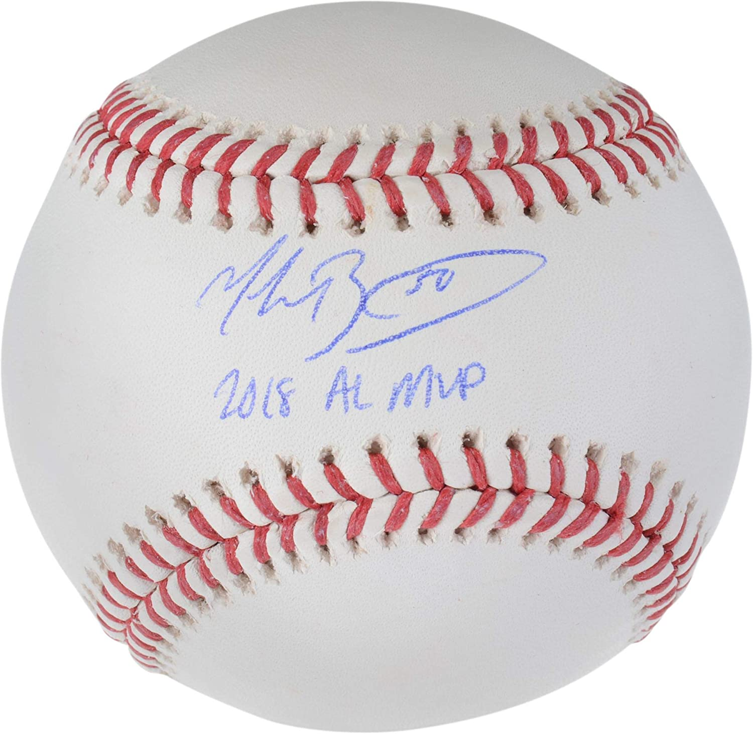 Fanatics Authentic Certified Mookie Betts Boston Red Sox Autographed Baseball with2018 AL MVP Inscription