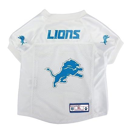 Image Unavailable. Image not available for. Color  Detroit Lions Dog Pet  Mesh Jersey ... 853174bfa