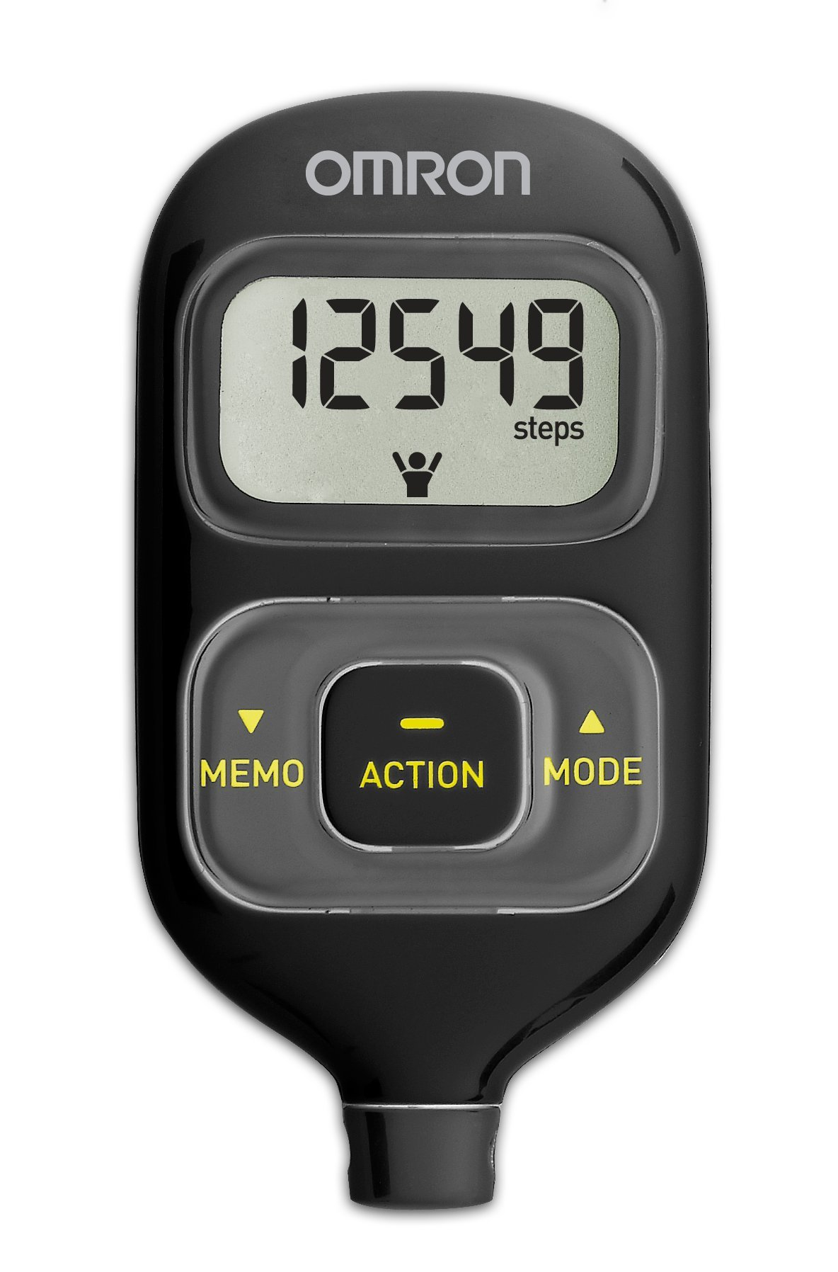 Omron Hj-203bl Activity Tracker, Black by Omron