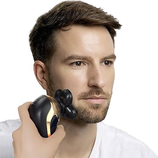 DOTSOG Maquinilla de afeitar eléctrica para hombres, resistente al ...
