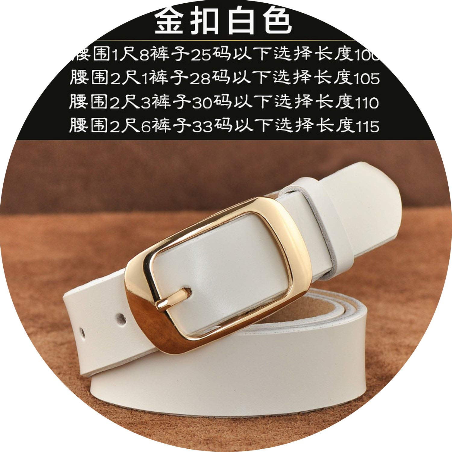 New Designer Fashion Womens Belts Genuine Leather Brand Straps Female Waistband Pin Buckles Fancy Vintage for Jeans