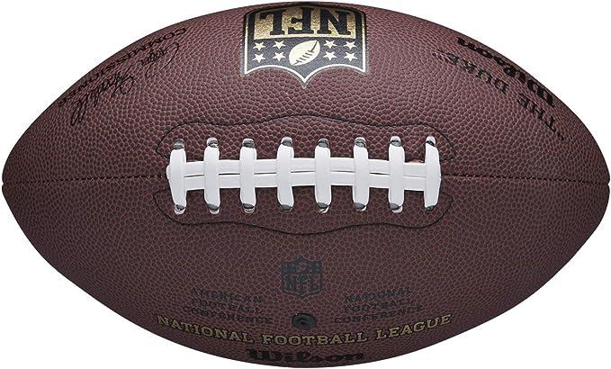 Wilson WTF1825XB Balón de Fútbol Americano, Nfl Duke Replica, Uso ...