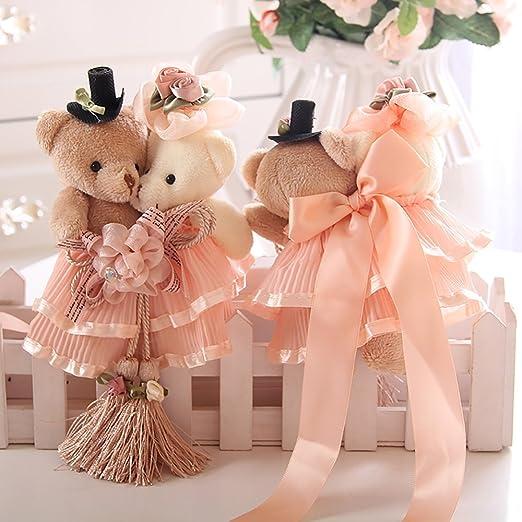 Ya Jin 1/Paire fen/être Rideau Embrasse en Dentelle Mignon Ours Boucle Draperie Embrasses Rideau de Mariage d/écoratifs
