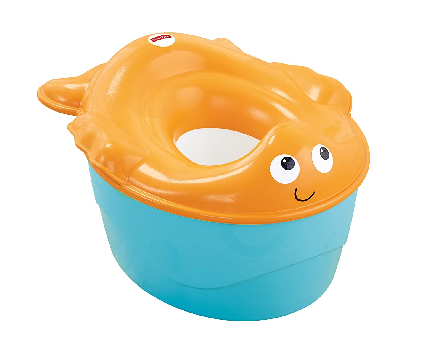 Fisher-Price 3-in-1 Potty, Goldfish Fun (Discontinued by Manufacturer) X7310