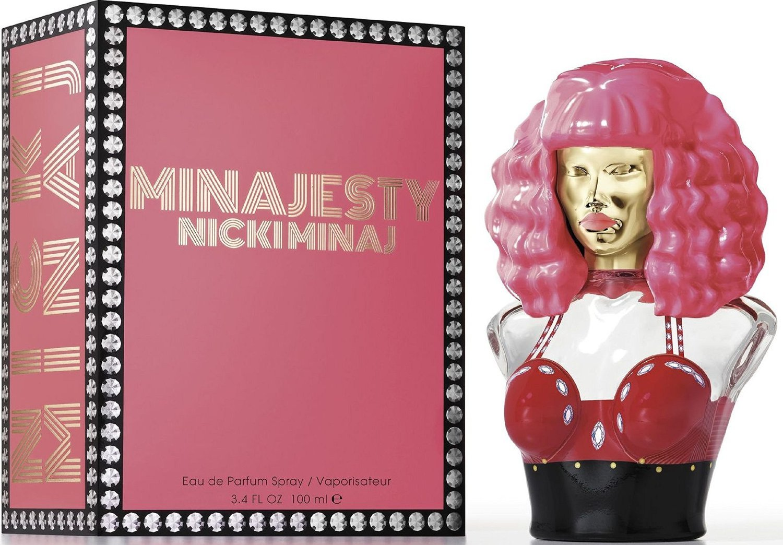 Nicki Minaj Minajesty Eau de Parfum Spray for Women 3.4 Ounce