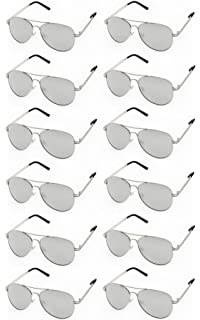0212688f727de AVIATOR SUNGLASSES - Classic   Stylish Retro Sunglasses Bulk Wholesale (12  Pack)