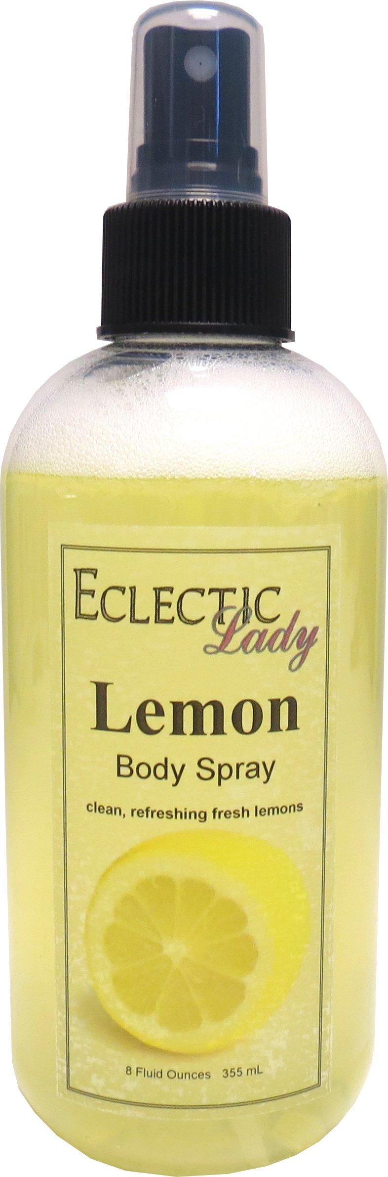 Lemon Body Spray, 8 ounces