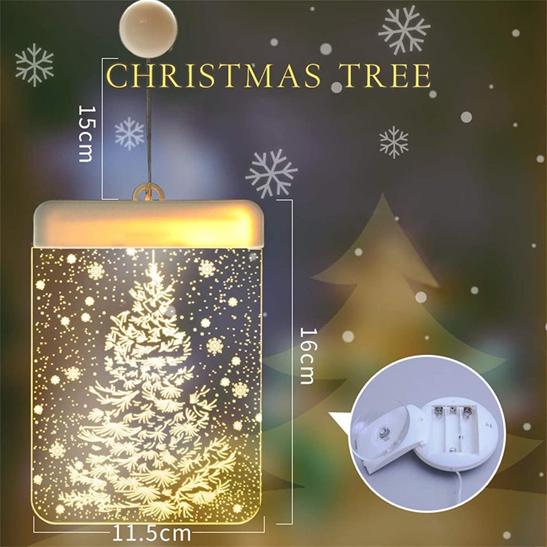 2020 Christmas Ornament, Decorative Christmas Lantern LED Battery Light Bell Deer Light String, Commemorative Ornament, Ceramic Ornament & Ribbon for Xmas Tree Ornament Hanging Accessories (G)