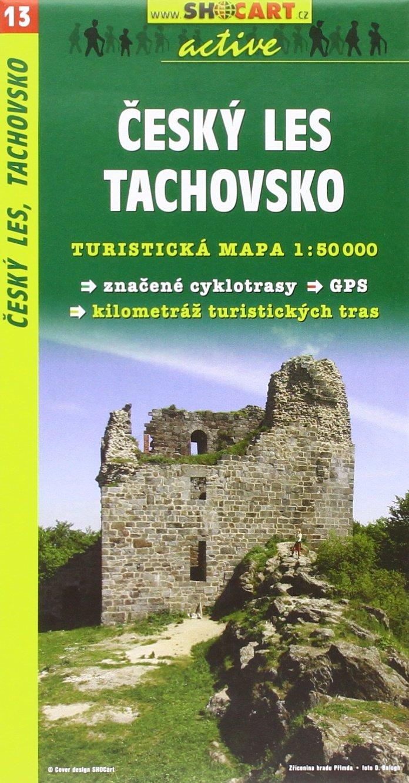 SC 013 Cesky les, Tachovsko 1:50T: Shocart Wanderkarte