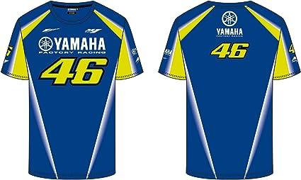 VR46 Camiseta Hombre Yamaha M1 Valentino Rossi TG. XL: Amazon.es ...