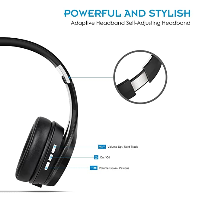NUBWO S1 Bluetooth 4.1 On-ear Kopfhörer Deep Bass: Amazon.de: Elektronik