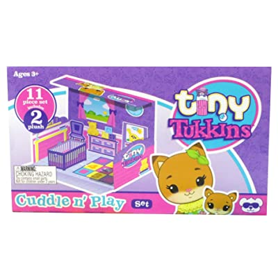 Tiny Tukkins Playset Assortment with Plush Stuffed Character, Fox, Toy: Toys & Games