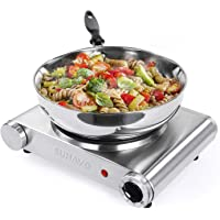Sunavo 1500W Hot Plate for Cooking Portable Electric Single Burner