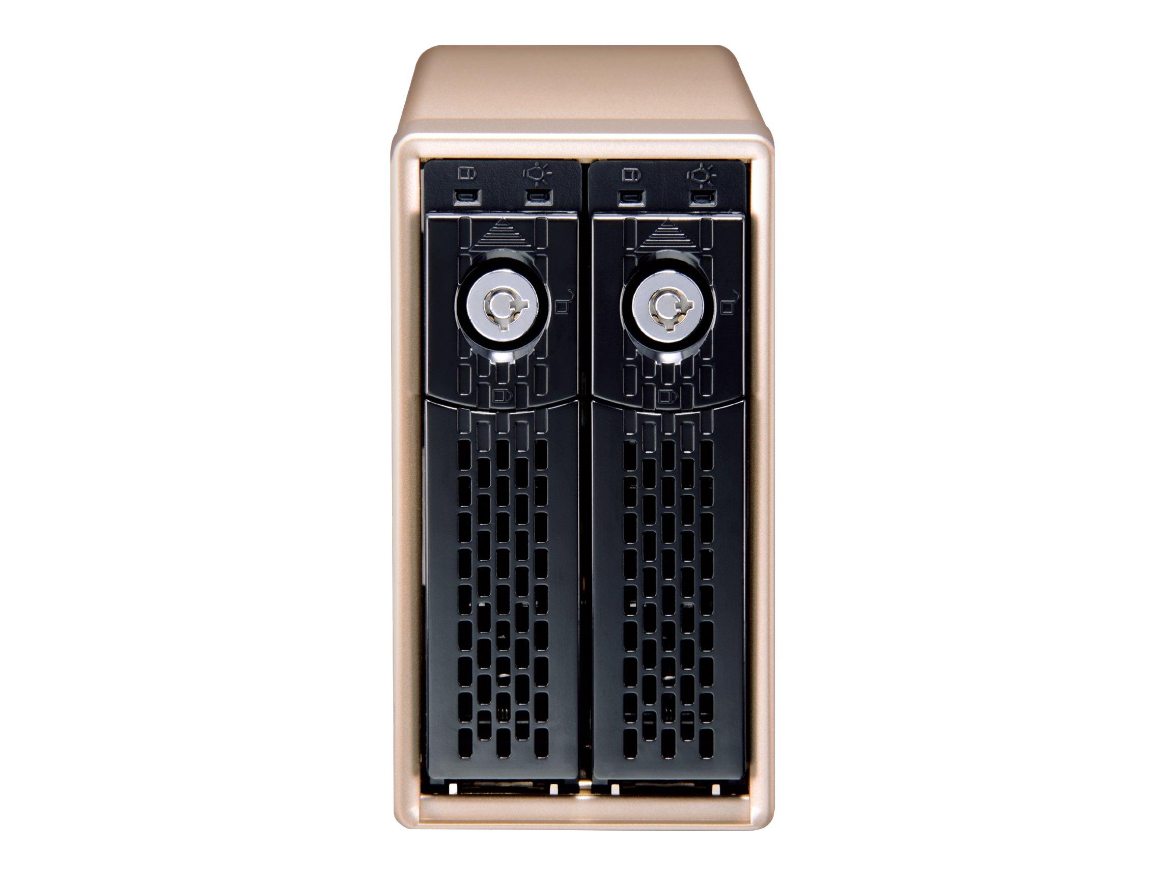 HighPoint NA460C  mini Dual USB Type-C 10Gb/s RAID Enclosure
