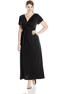 f88bfb89c6f5 Star Vixen Women's Plus Size Sleeveless Summer Surplice Tulip Skirt ...