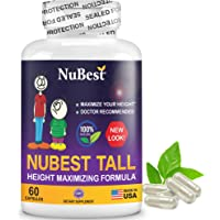 NuBest Tall - Powerful Growth Formula - Natural Bone Strength Support - Healthy Growth Supplement - for Children (5…