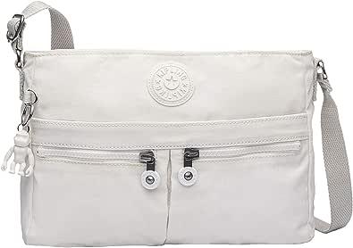 Kipling New Angie Crossbody Bag, Bolso cruzado convertible para Mujer, Talla única
