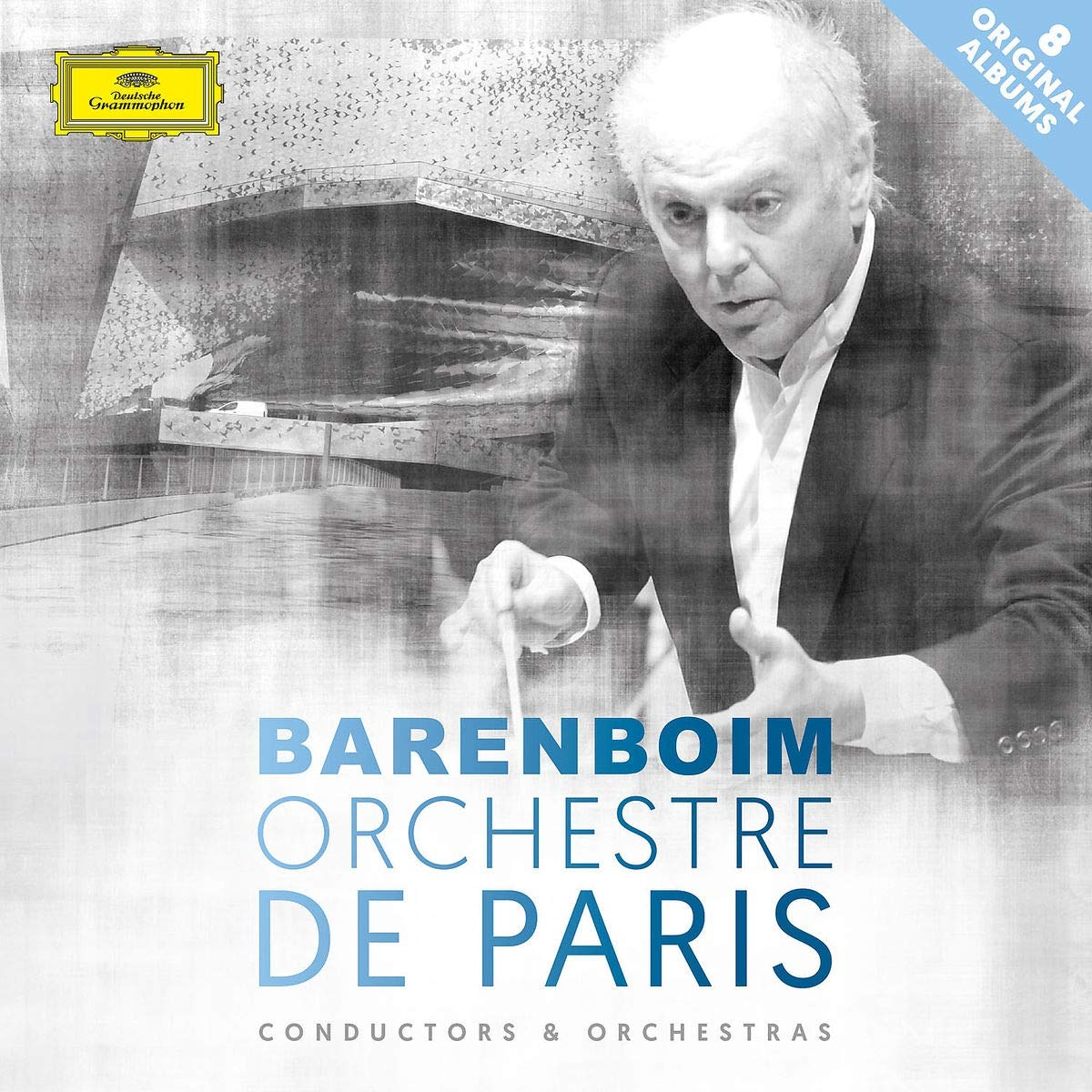 CD : DANIEL BARENBOIM/ORCHESTRE DE PARIS - Daniel Barenboim & Orchestre De Paris (Boxed Set, 8PC)