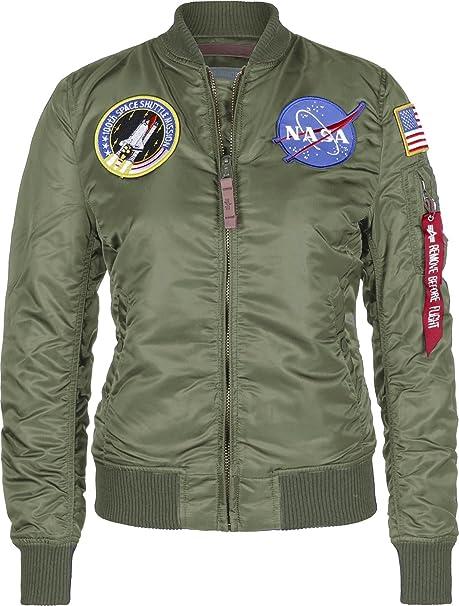 1814041350b Alpha Industries Mens MA1 NASA Retro Flight Pilot Jacket  Amazon.co.uk   Clothing