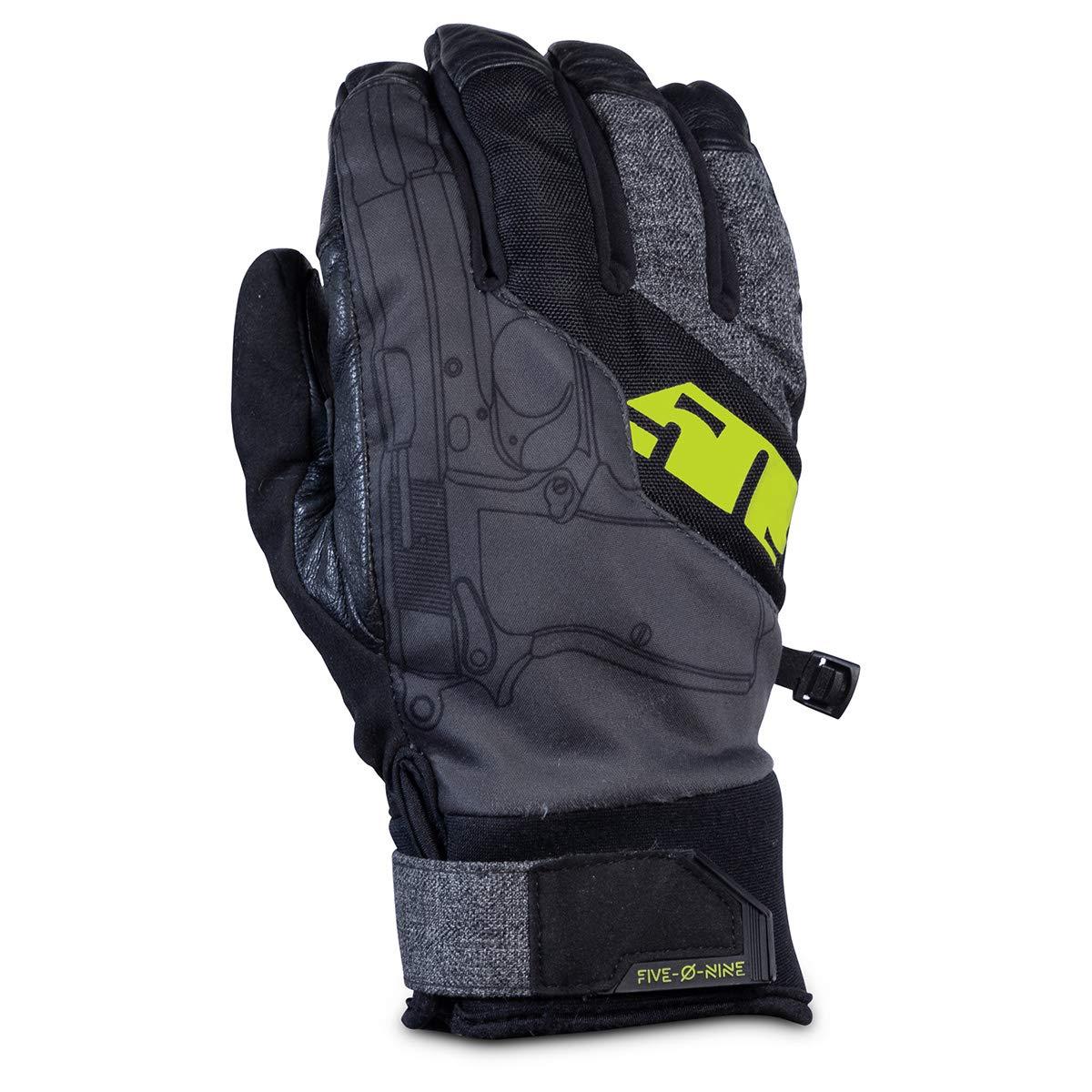 Orange - Small 509 Freeride Gloves
