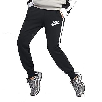 8214dfc50ad0 Nike Damen Training Fitness Hose NSW JOGGER PK HW schwarz