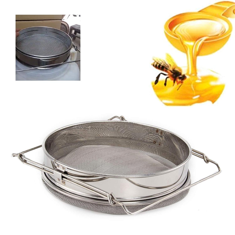 Doppelsieb Imkereibedarf Honig Filter Sieb Filtersieb Imker Werkzeug Honig