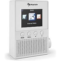 auna Digi Plug • Steckdosen Internetradio • Digitalradio • WLAN Radio • integrierter Breitbandlautsprecher • Remote-Control • Zwischenspeicher • Wecker • Uhrzeitanzeige • Wetteranzeige • weiß