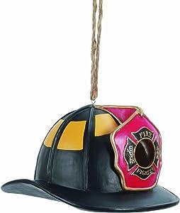Spoontiques Fire Hat Birdhouse