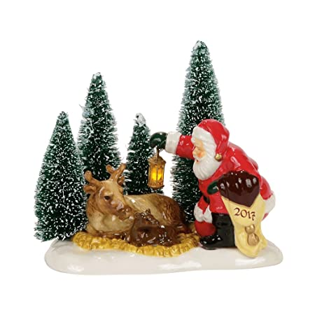 Department 56 – Santa Comes to Town, 2017
