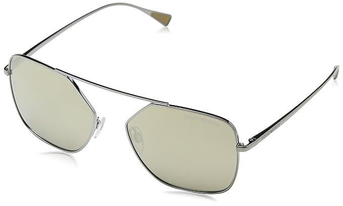 f60c90d364 Emporio Armani Gafas de sol Earmani 4001 Gunmetal 30105A, 56: Amazon.es:  Ropa y accesorios