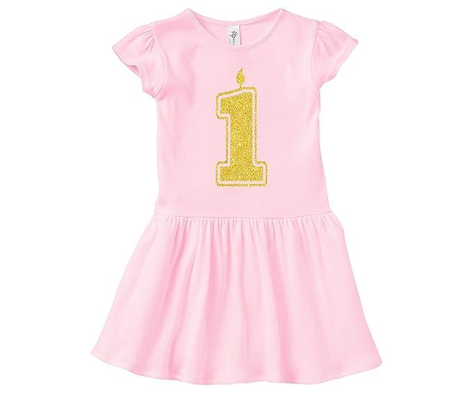 Amazon.com: Vestido de primer cumpleaños para niña, esquina ...