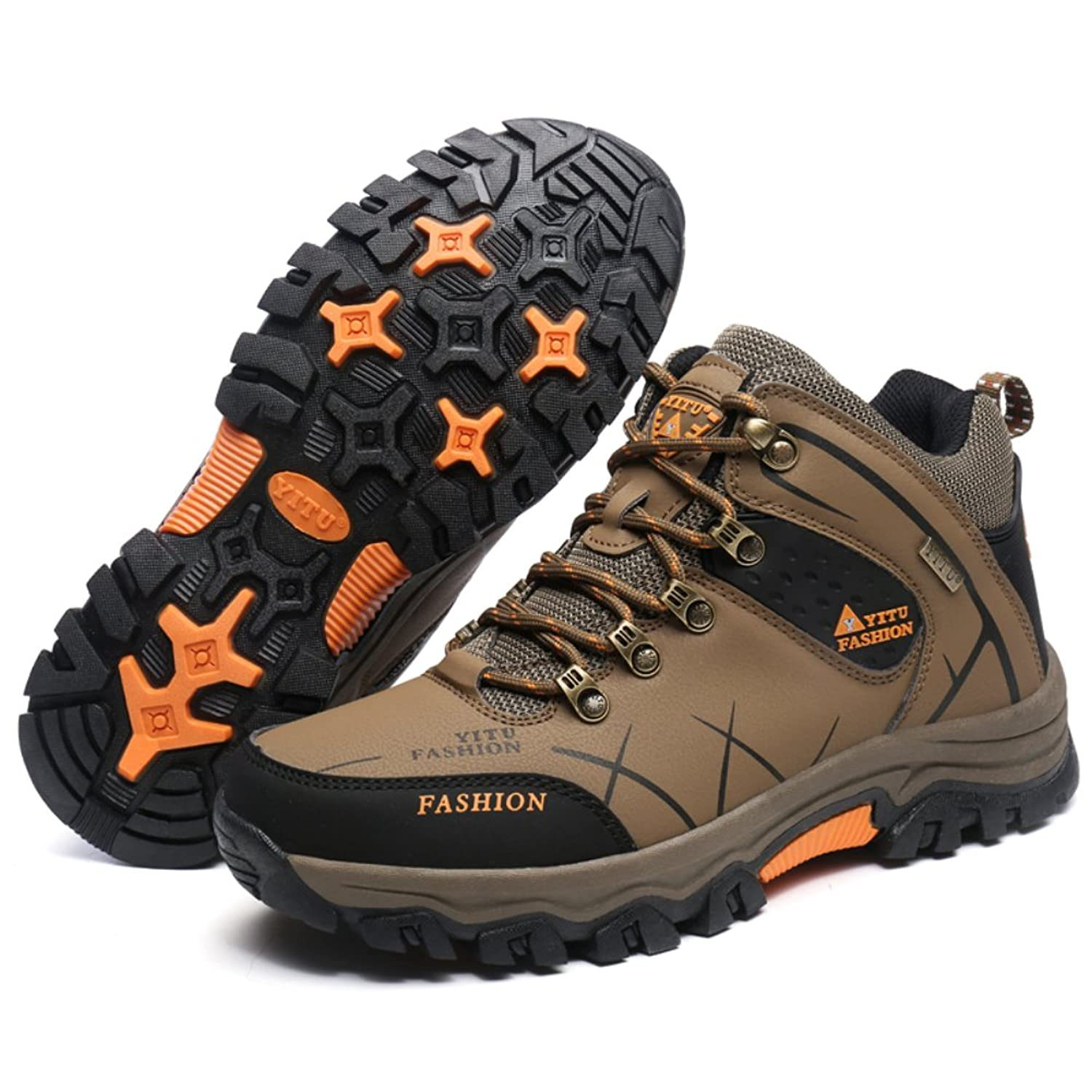 FOBEY Mens Outdoor Climbing Sport Walking Sneakers Hunting Athletic Shoes  Warm Cotton Shoes: Amazon.co.uk: Shoes & Bags