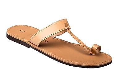 Und Ciffre Herren Echt Zehen Sandale Damen Mit Sandalette Leder FFZq4