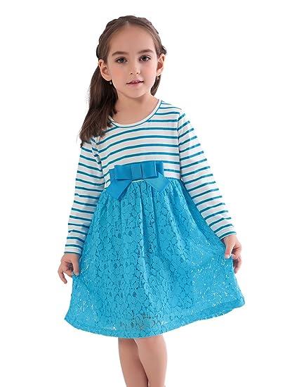Lace Blue Dresses