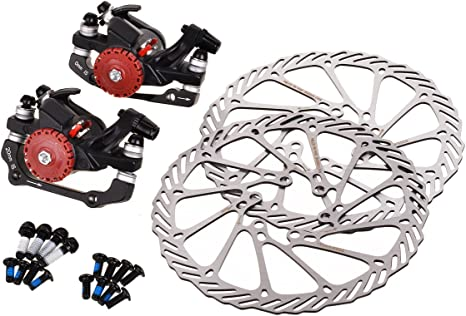 EBS Kit de Frenos y Rotores de Disco de Bicicleta de Montaña de ...