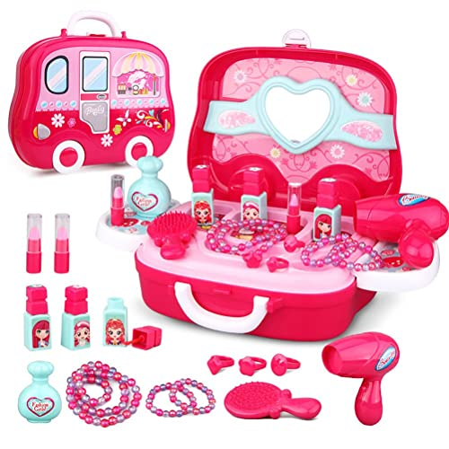 role play jewelry kit for girls toy set princess suitcase gift for kids children 3 years old. Black Bedroom Furniture Sets. Home Design Ideas
