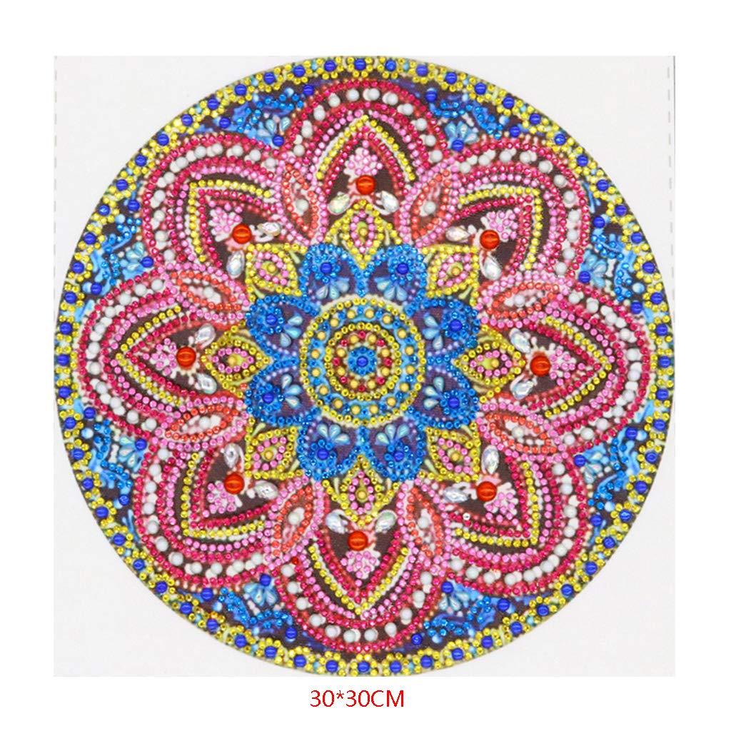Caingmo Religi/öse Mandala 5D Special Shaped Diamond Painting Stickerei Needlework Strass Kristall Cross Craft Stitch Kit DIY