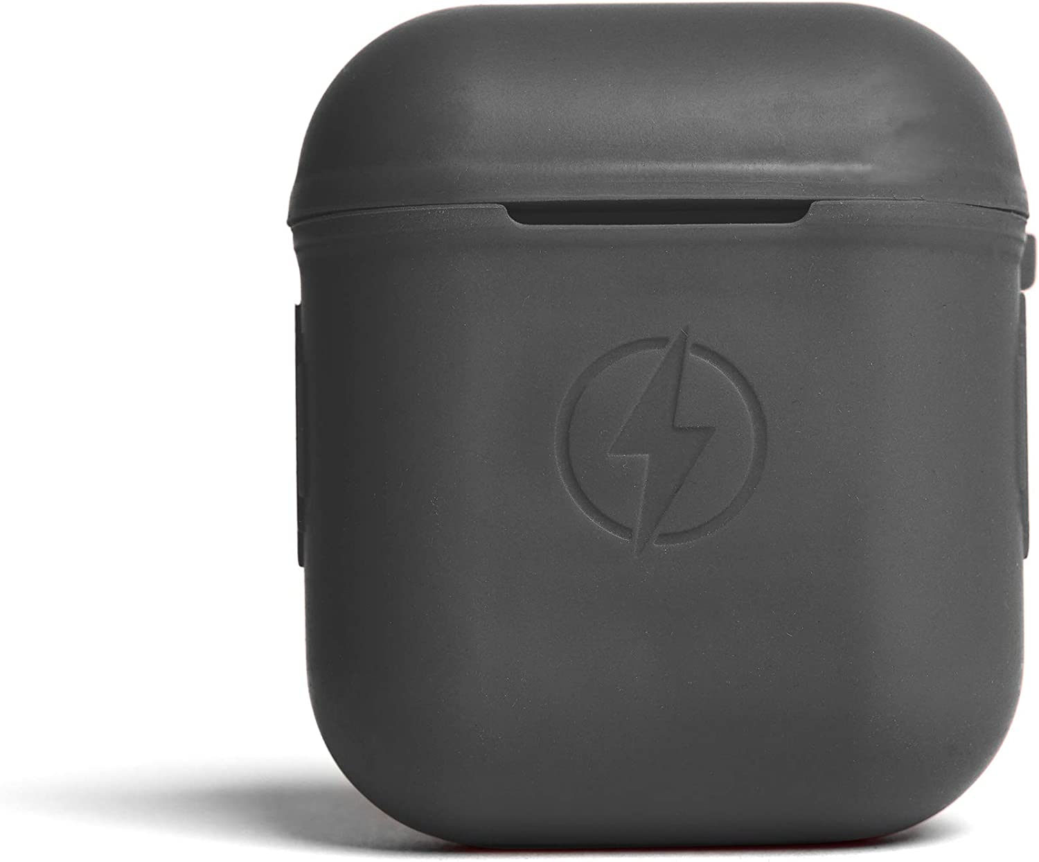 Airsleeve Replacement Airpods Wireless Charging Case - Compatible with Apple Airpods 1 & 2 - Grey