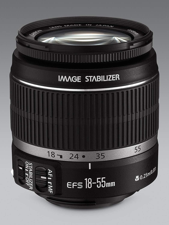 Canon EF-S 18-55mm f/3.5-5.6 IS Lens: Amazon.es: Electrónica