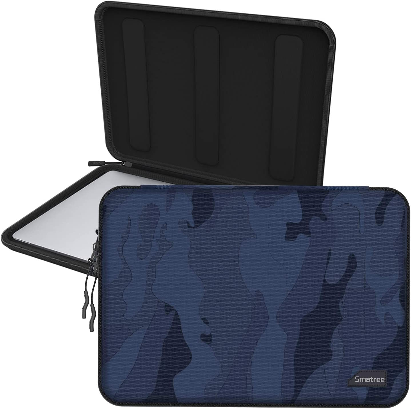 Smatree Hardshell Laptop Sleeve Compatible with 13.3inch MacBook Air/MacBook Pro 2020/2019/2018/2017 /12.9inch iPad Pro/ 12inch MacBook/ 11.6inch MacBook Air/Tablet Sleeve Case (Blue)