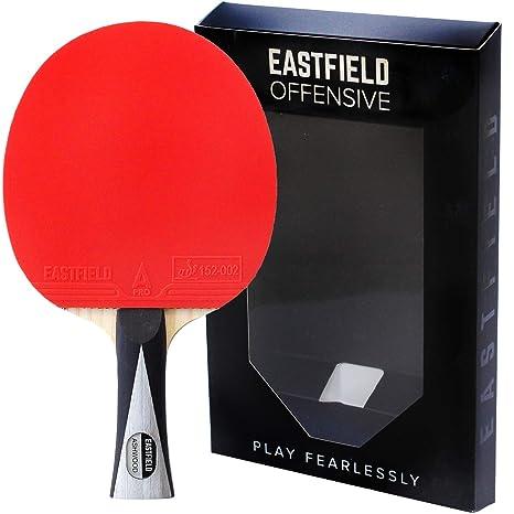 Raqueta de tenis de mesa profesional ofensiva de Eastfield: Amazon ...