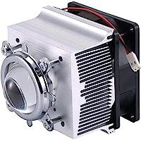Tesfish Aluminium koellichaam koelventilator 44 mm lens 120 graden voor 50W 100W LED chip verlichting