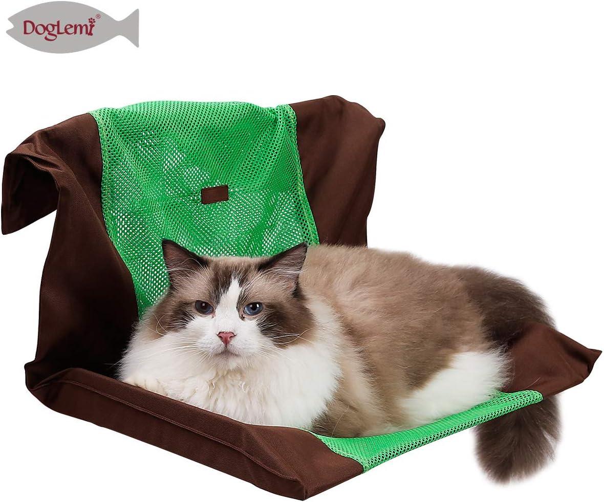 AZUO Cubierta de la Plataforma del Acoplamiento del Aire del Radiador del Gato Hamaca para el Verano: Amazon.es: Productos para mascotas