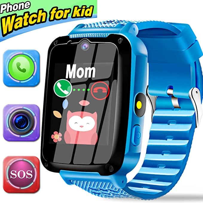 d0d704a75 Kids Phone Smart Watch for 3-12 Year Boys Girls with 1.44 quot  HD Touch
